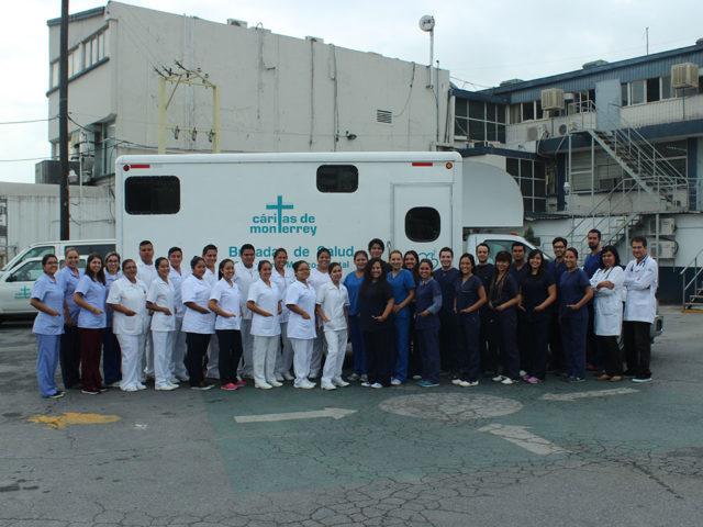 Brigadas de salud de Cáritas de Monterrey