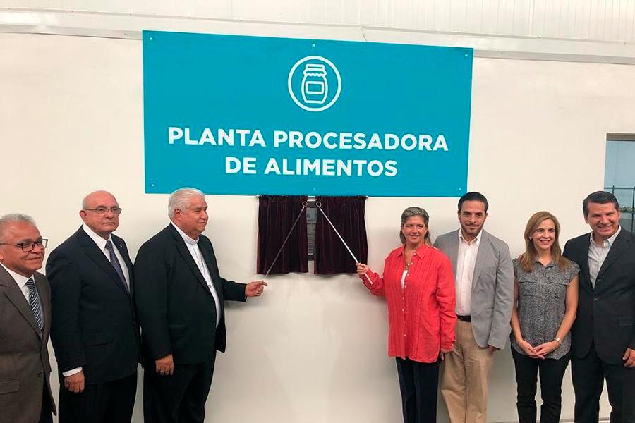Planta procesadora de alimentos en Monterrey, Nuevo León.