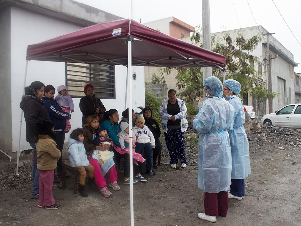 Brigada médica de Cáritas de Monterrey: servicios de salud hasta tu comunidad