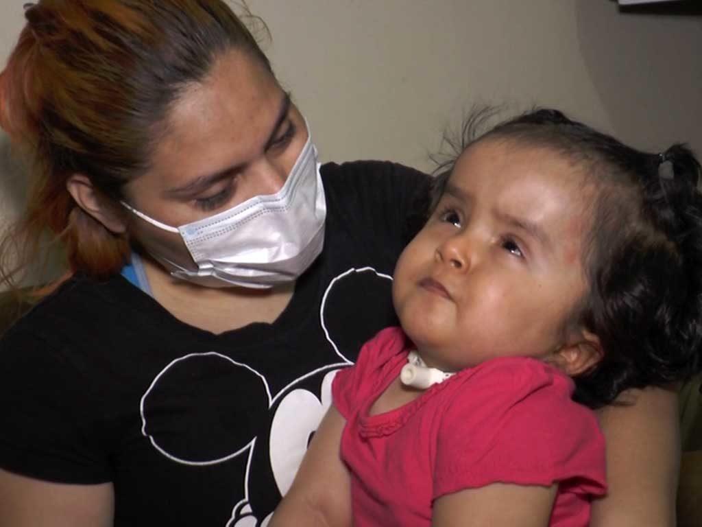 Haz equipo con Cáritas Monterrey para cambiar la vida de Melany